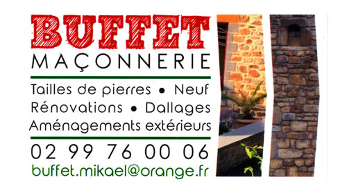 Mikaël Buffet Maçonnerie Rénovation Vitré Chatillon-en-Vendelais