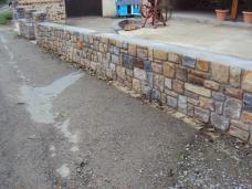 Prestation de maçonnerie traditionnelle : pose de murets