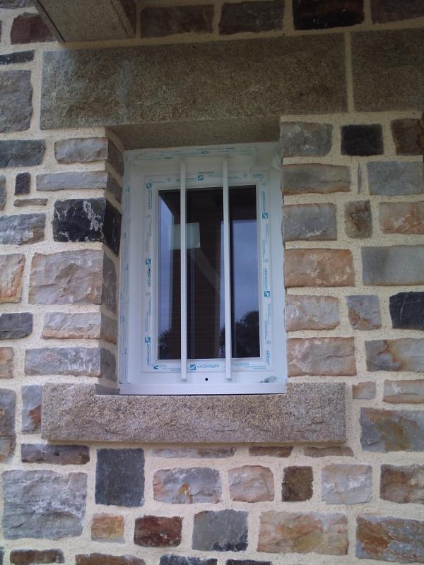 Taille de pierres Fenêtres