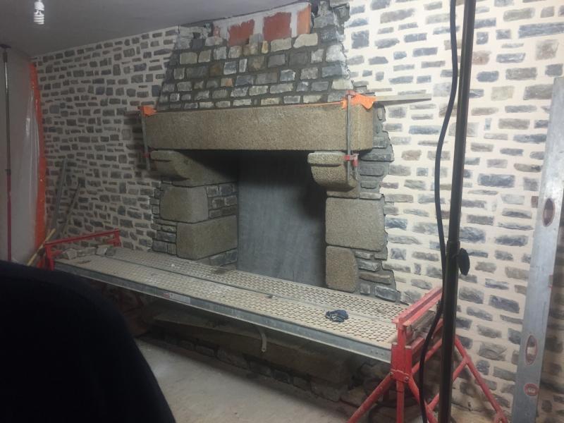 Construction d'une cheminé - 2