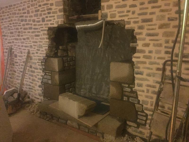 Construction d'une cheminé -1