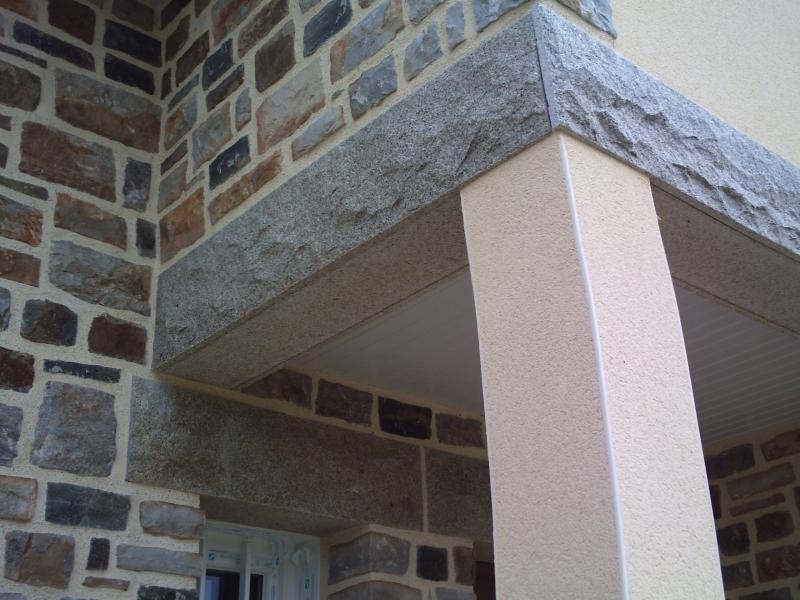 plaquage de granit