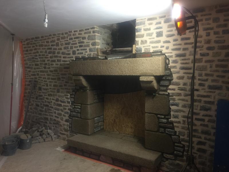 Construction d'une cheminé - 3